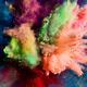 Holi powder splashing in the air. - PhotoDune Item for Sale