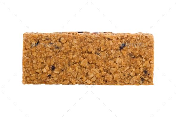 vegan bar isolated on white background - Stock Photo - Images
