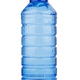 blue plastic vitamin water bottle on white background - PhotoDune Item for Sale