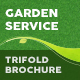 Garden Service Trifold Brochure 2 - GraphicRiver Item for Sale