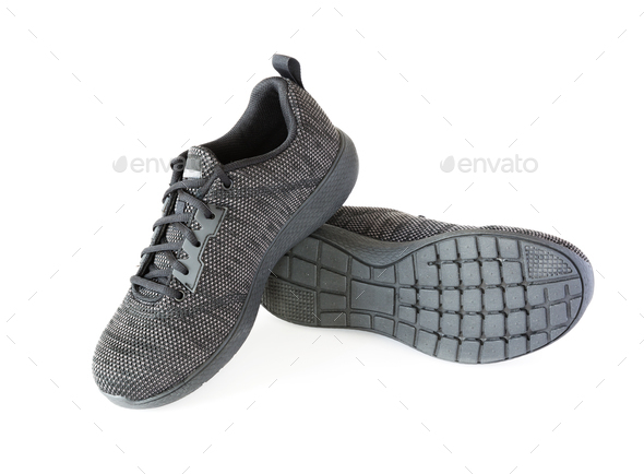 Isolated Unisex Modern Style Sport Shoes - Stock Photo - Images