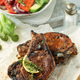 Pork steaks on bone - PhotoDune Item for Sale