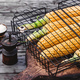 Corn cobs in grill grid - PhotoDune Item for Sale
