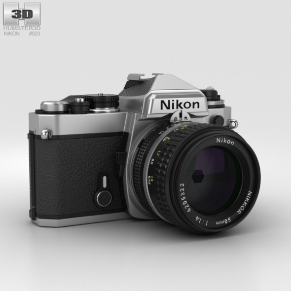 Nikon FE Silver