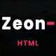 Zeon - Creative Onepage Template - ThemeForest Item for Sale