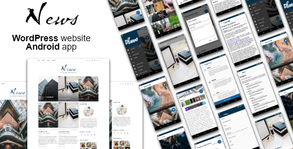 Android News App with WordPress Theme            Nulled