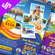 Hotel and Travel Flyer Template - GraphicRiver Item for Sale