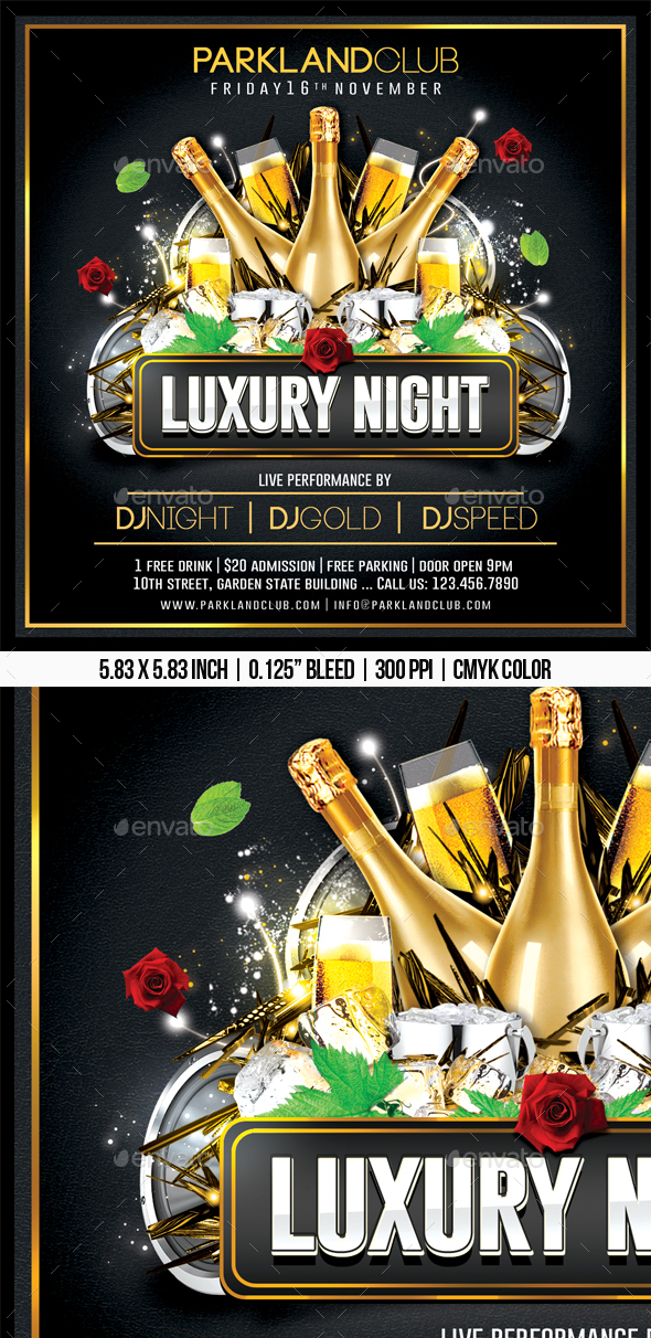 Luxury Night - Clubs & Parties Events