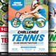Tennis Flyers Bundle Templates - GraphicRiver Item for Sale