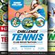 Tennis Flyers Bundle Templates - GraphicRiver Item for Sale