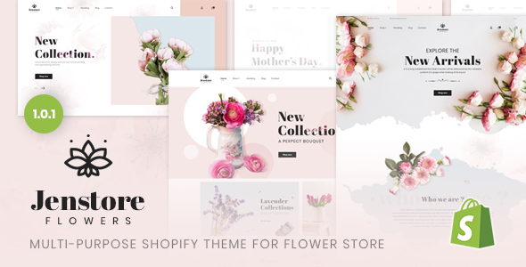 JenStore | Multi-Purpose Shopify Theme for Flower Store - Shopify eCommerce