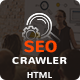 SEO Crawler - Digital Marketing Agency HTML Template - ThemeForest Item for Sale