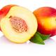 Fresh nectarines fruit isolated on a white background - PhotoDune Item for Sale