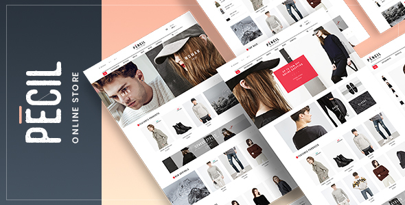 Pecil - Awesome Fashion WooCommerce Theme - WooCommerce eCommerce