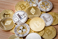 Isolated Crypto Currency - PhotoDune Item for Sale