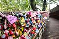 Love Locks at N Seoul Tower - PhotoDune Item for Sale