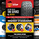 Tires Services Flyers Bundle - GraphicRiver Item for Sale