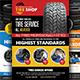 Tires Services Flyers Bundle - GraphicRiver Item for Sale