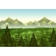 Background Scene Pine Forest - GraphicRiver Item for Sale