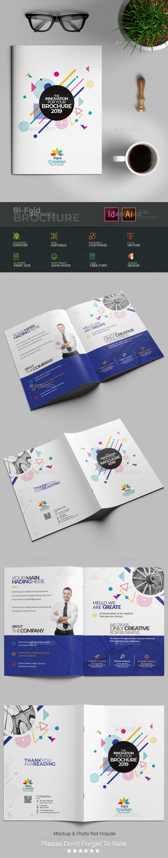 Bi-Fold Brochure - Brochures Print Templates
