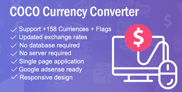COCO - Currency Converter            Nulled