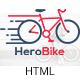 HeroBike - Responsive Bike Shop Template - ThemeForest Item for Sale