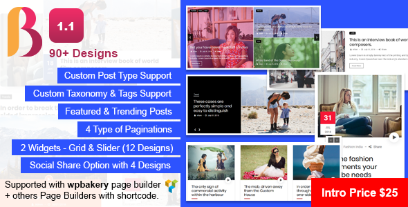 News & Blog Designer Pack Pro for WordPress - CodeCanyon Item for Sale