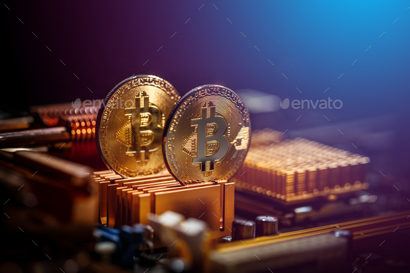 New crypto currency - Stock Photo - Images