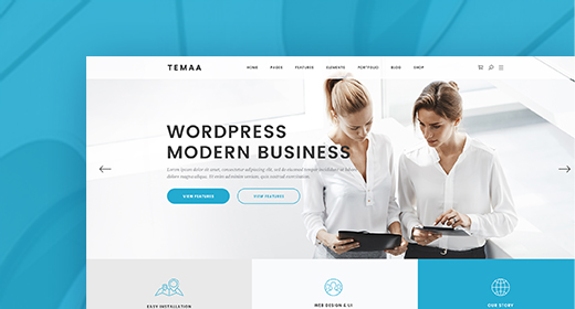 Top Corporate WordPress Themes