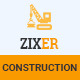 ZIXER - Construction Building Company - ThemeForest Item for Sale