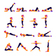 Gym and Yoga Exercises - GraphicRiver Item for Sale