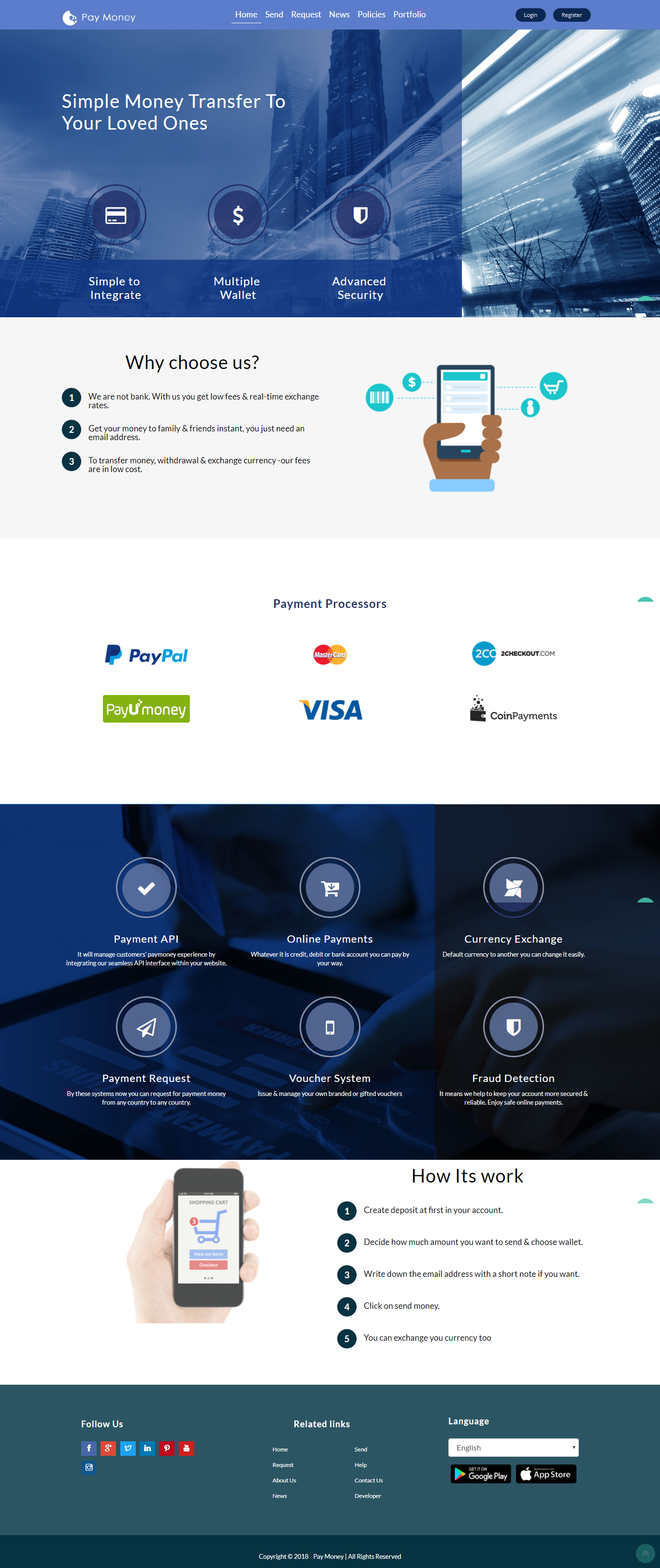 Paymoney Secure Online Payment Gateway By Techvillage1 Codecanyon