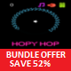 Hopy Hop Neon Bundle - Buildbox Game Template + eclipse + android studio + iOS xcode - CodeCanyon Item for Sale