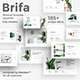 Brifa Minimal Google Slide Template - GraphicRiver Item for Sale