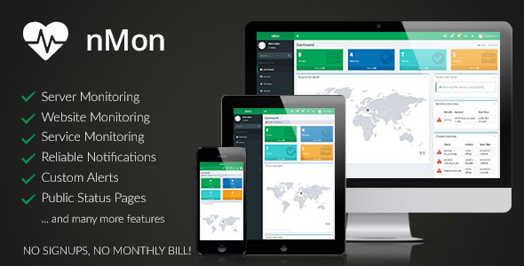 nMon - Website, Service & Server Monitoring - CodeCanyon Item for Sale