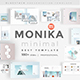 Monika Minimal Powerpoint Template - GraphicRiver Item for Sale