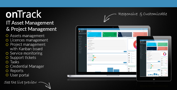 onTrack - IT Asset Management & Project Management - CodeCanyon Item for Sale