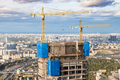 construction of high-rise building in Moscow city - PhotoDune Item for Sale