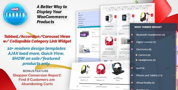 WooCommerce Tabbed Category Product Listing - Pro - CodeCanyon Item for Sale