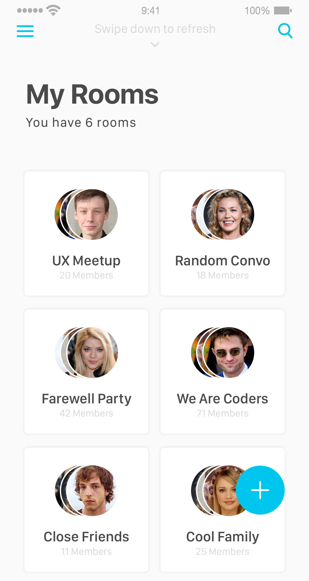 Groupy - Group Chat Messenger App like GroupMe