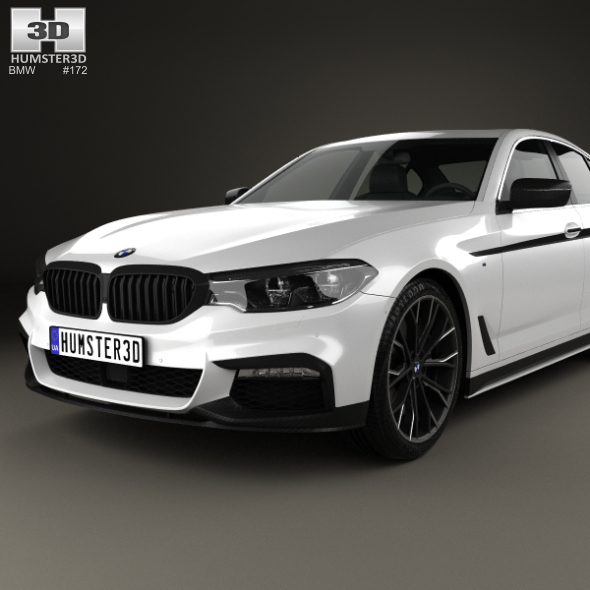 BMW 5 Series (G30) M Performance Parts 2017 By Humster3d