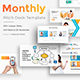 Monthly Goals Pitch Deck Powerpoint Template - GraphicRiver Item for Sale