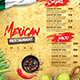 Mexican Menu - GraphicRiver Item for Sale