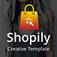 Shopily Creative Google Slide Template - GraphicRiver Item for Sale