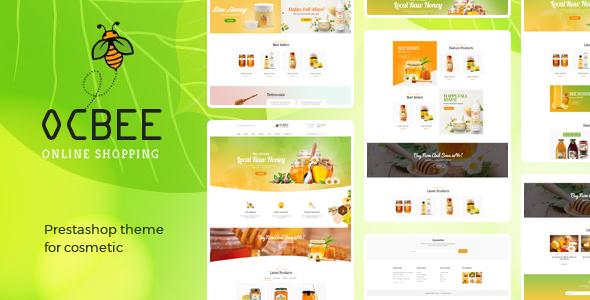 Bos Ocbee - Honey, Food, Beauty Prestashop 1.7 Theme - Health & Beauty PrestaShop