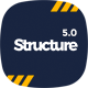 Structure - Construction WordPress Theme - ThemeForest Item for Sale