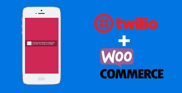 Customizable WooCommerce Order SMS Notification Plugin with Twilio API