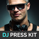Beatz - DJ Press Kit / DJ Resume / DJ Rider PSD Template - GraphicRiver Item for Sale