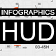 Infographics HUD set 3 - VideoHive Item for Sale
