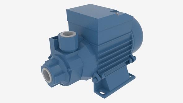 QB Series Clean Water Pump - 3DOcean Item for Sale